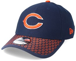 Chicago Bears Sideline 39Thirty Navy Flexfit - New Era