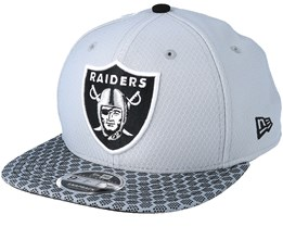 Oakland Raiders Sideline 9Fifty Grey Snapback - New Era