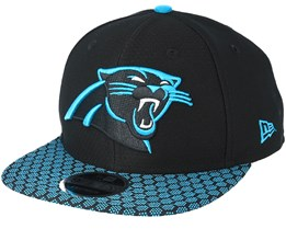 Carolina Panthers Sideline 9Fifty Black Snapback - New Era
