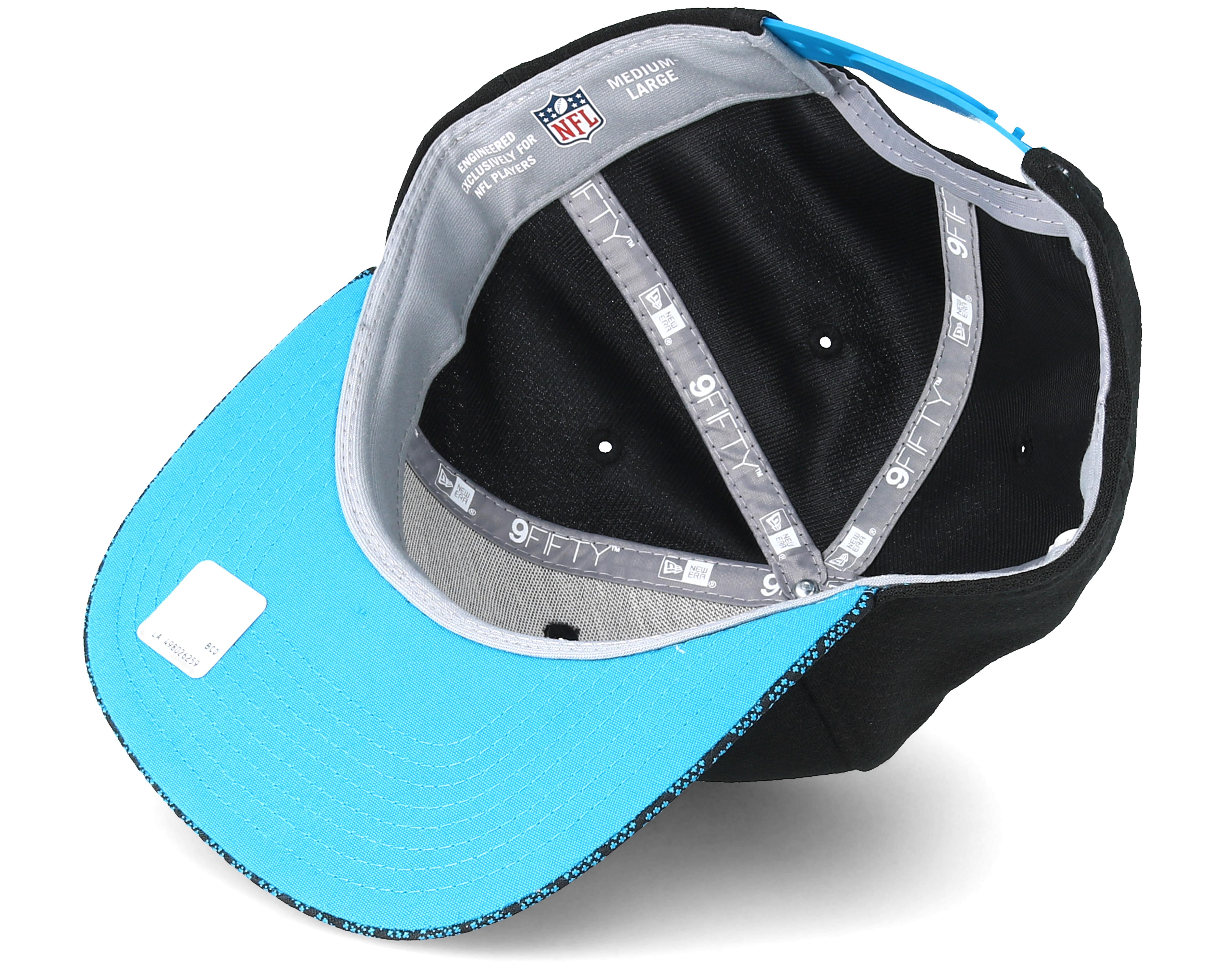 9c4e065e085 Carolina Panthers Sideline 9Fifty Black Snapback - New Era caps ...