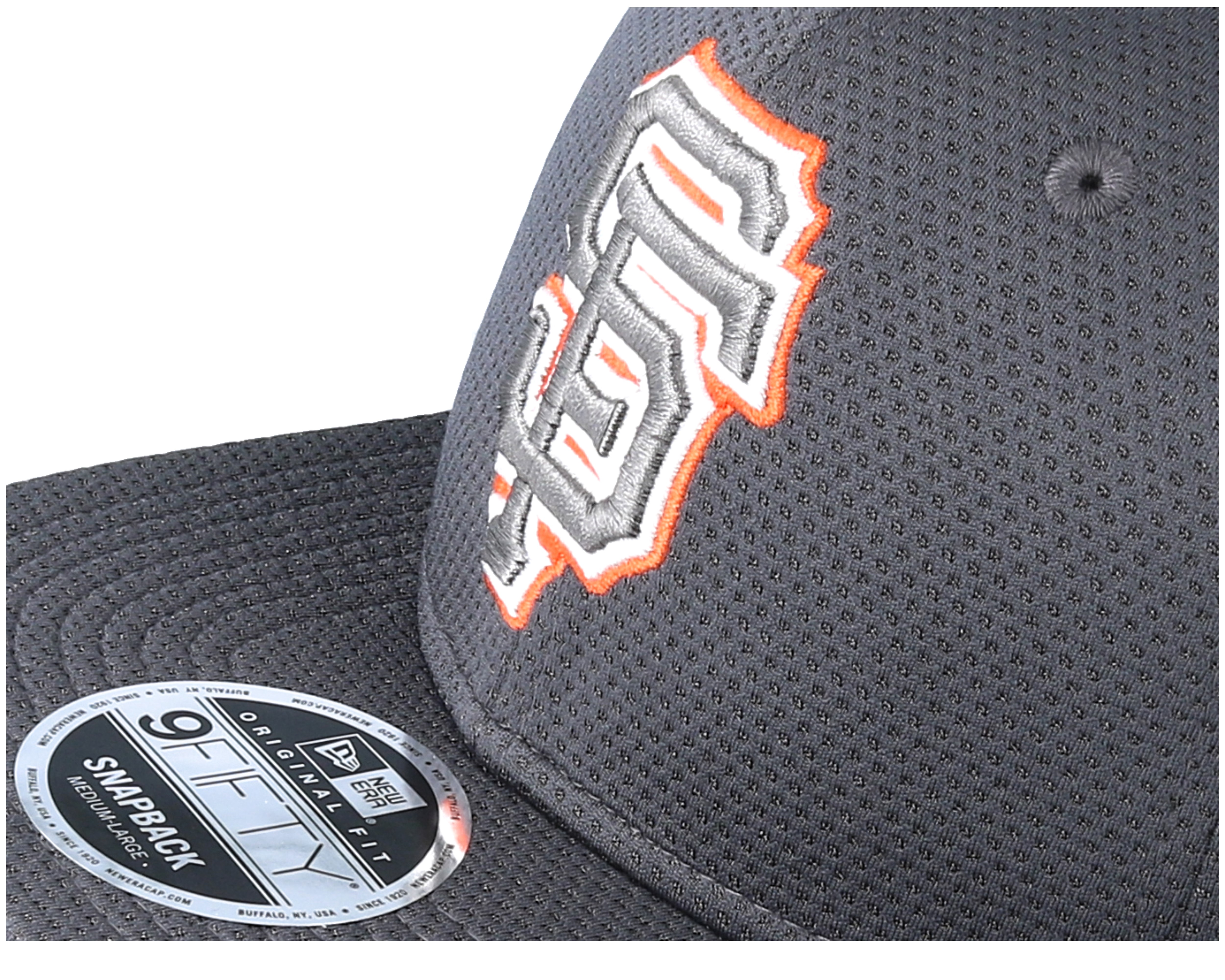 san francisco giants tone tech redux 9fifty grey fitted new era casquette. Black Bedroom Furniture Sets. Home Design Ideas