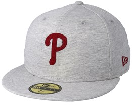 Philadelphia Phillies The Lounge 59Fifty Gray Fitted - New Era