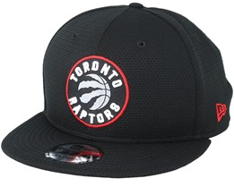 Toronto Raptors Team Mesh 9Fifty Black Snapback - New Era
