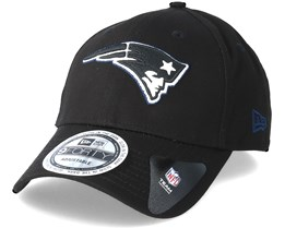 New England Patriots Team Gitd Basic 9Forty Black Adjustable - New Era