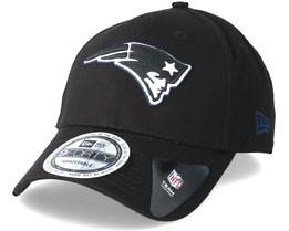 New England Patriots Team Gitd Basic 9Forty Black Adjustable - New Era