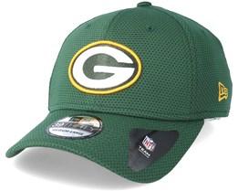 Green Bay Packers Sport Mesh 39Thirty Green Flexfit - New Era