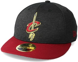 Cleveland Cavaliers Shadow Tech Low Profile 59Fifty Heather Grey Fitted - New Era