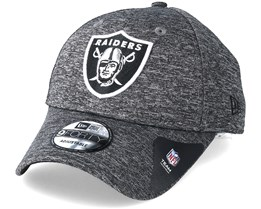 Oakland Raiders Tech 9Forty Grey Adjustable - New Era