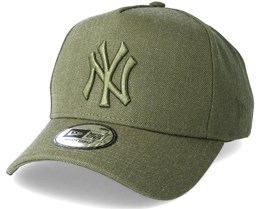 New York Yankees Leuge Essential Aframe Olive Adjustable - New Era