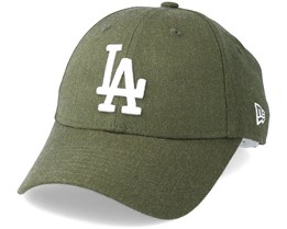 Los Angeles Dodgers Season Heather 9Forty Olive Adjustable - New Era