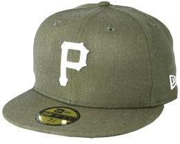 Pittsburgh Pirates Season Heather 9Fifty Olive Fitted - New Era