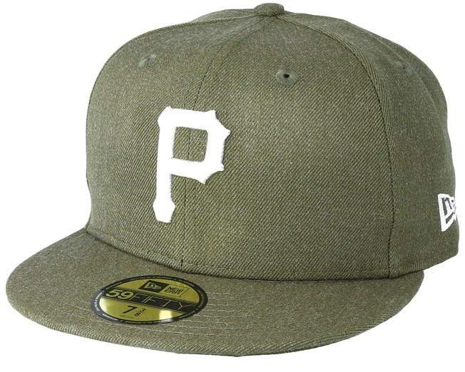 new arrival 1bc45 f491c ... italy pittsburgh pirates season heather 9fifty olive fitted new era caps  hatstore af123 db0d4