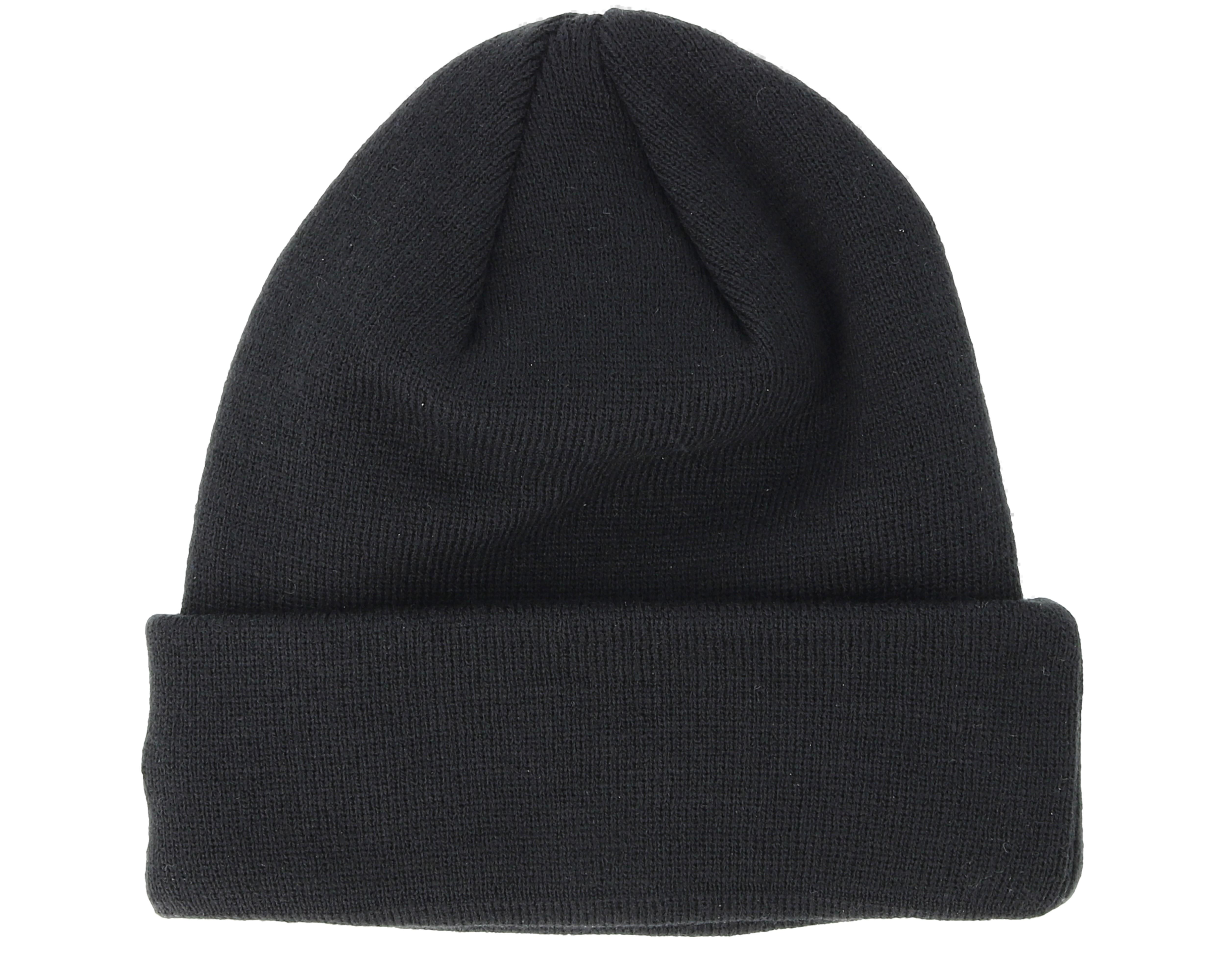 new york yankees satin patch knit black beanie new era. Black Bedroom Furniture Sets. Home Design Ideas