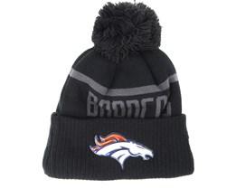Denver Broncos Coll Knit Black Beanie - New Era