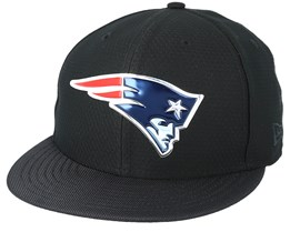 New England Patriots Black Coll 59Fifty Black Fitted - New Era