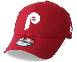 Philadelphia Phillies Classic 39Thirty Red Flexfit - New Era