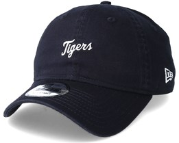 Detroit Tigers Mini Wordmark 9Forty Navy Adjustable - New Era