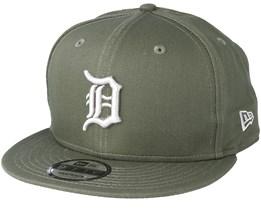 Detroit Tigers League Essential 9Fifty Olive Snapback - New Era