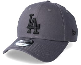 Los Angeles Dodgers League Essential 9Forty Grey/Black Adjustable - New Era