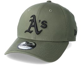 Oakland Athletics League Essential 39Thirty Olive/Black Flexfit - New Era