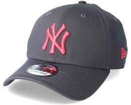 New York Yankees League Essential 9Thirty Grey/Pink Flexfit - New Era