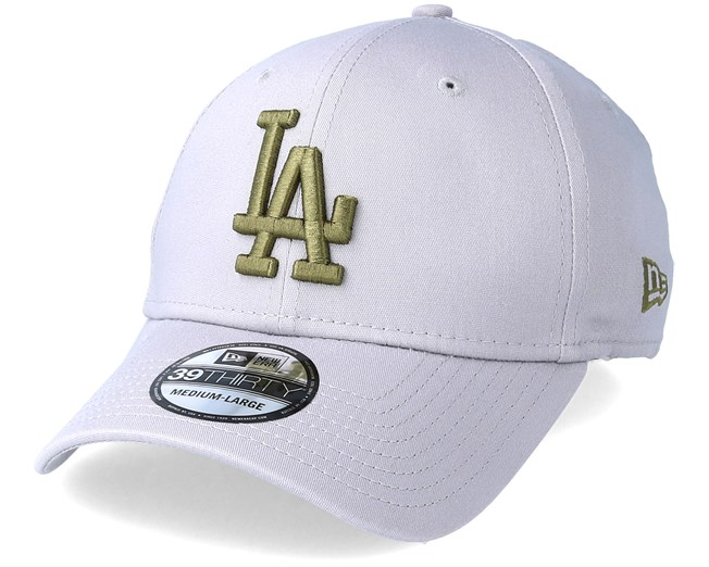 New York Yankees League Essential 39Thirty Grey Olive Flexfit - New ... 96ba8c10eaf6