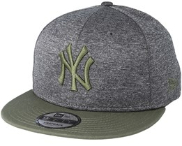 New York Yankees Heather Jersey 9Fifty Heather Grey Snapback - New Era