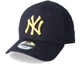 Kids New York Yankees Golden 9Forty Navy Adjustable - New Era