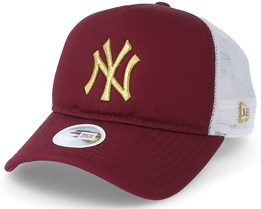 Premium Trucker Women Maroon/Gold Trucker - New Era