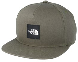 Street Ball Olive Snapback - The North Face