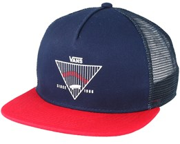 Goins Dress Blue Trucker - Vans