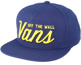 Established 66 Black Snapback - Vans