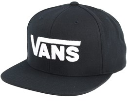 Drop V II Black/White Snapback - Vans