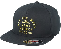 Stacked Rubber Black Fitted - Vans