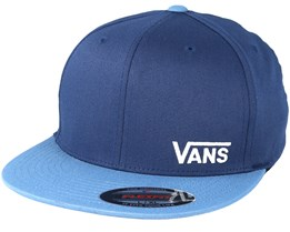 Splitz Dress Blue Fitted - Vans