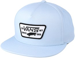 Full Patch Baby Blue Snapback - Vans