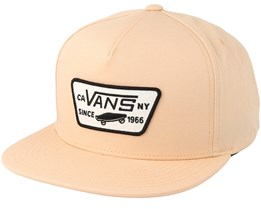 Full Patch Apricot Snapback - Vans