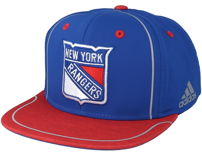 reputable site da99c b0be0 New York Rangers Bravo Blue red Snapback - Adidas caps   Hatstore.ie