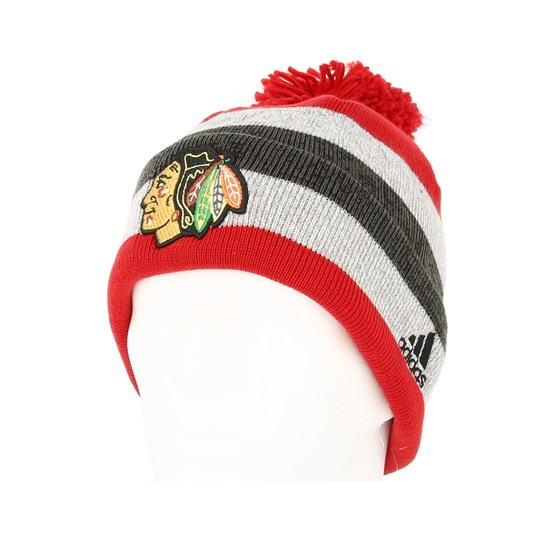 competitive price 2d5ad e07ba Chicago Blackhawks Juliet Tuft Knitted Pom - Adidas beanies   Hatstore.co.uk