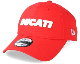 Ducati Essential Wordmark 9Forty Red Adjustable - New Era
