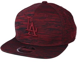 Los Angeles Dodgers Engineered Fit 9Fifty Red Snapback - New Era