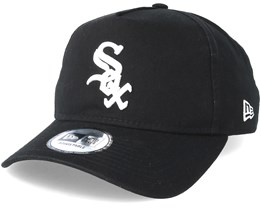 Chicago White Sox Washed A Frame Black Adjustable - New Era