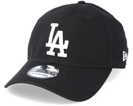 Los Angeles Dodgers 39Thirty Washed Black/White Flexfit - New Era