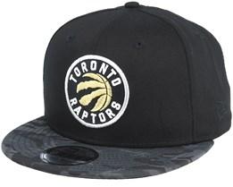 Toronto Raptors Team 9Fifty Black/Camo Snapback - New Era