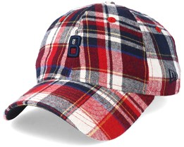 Boston Red Sox 9Forty Spring Plaid Adjustable - New Era