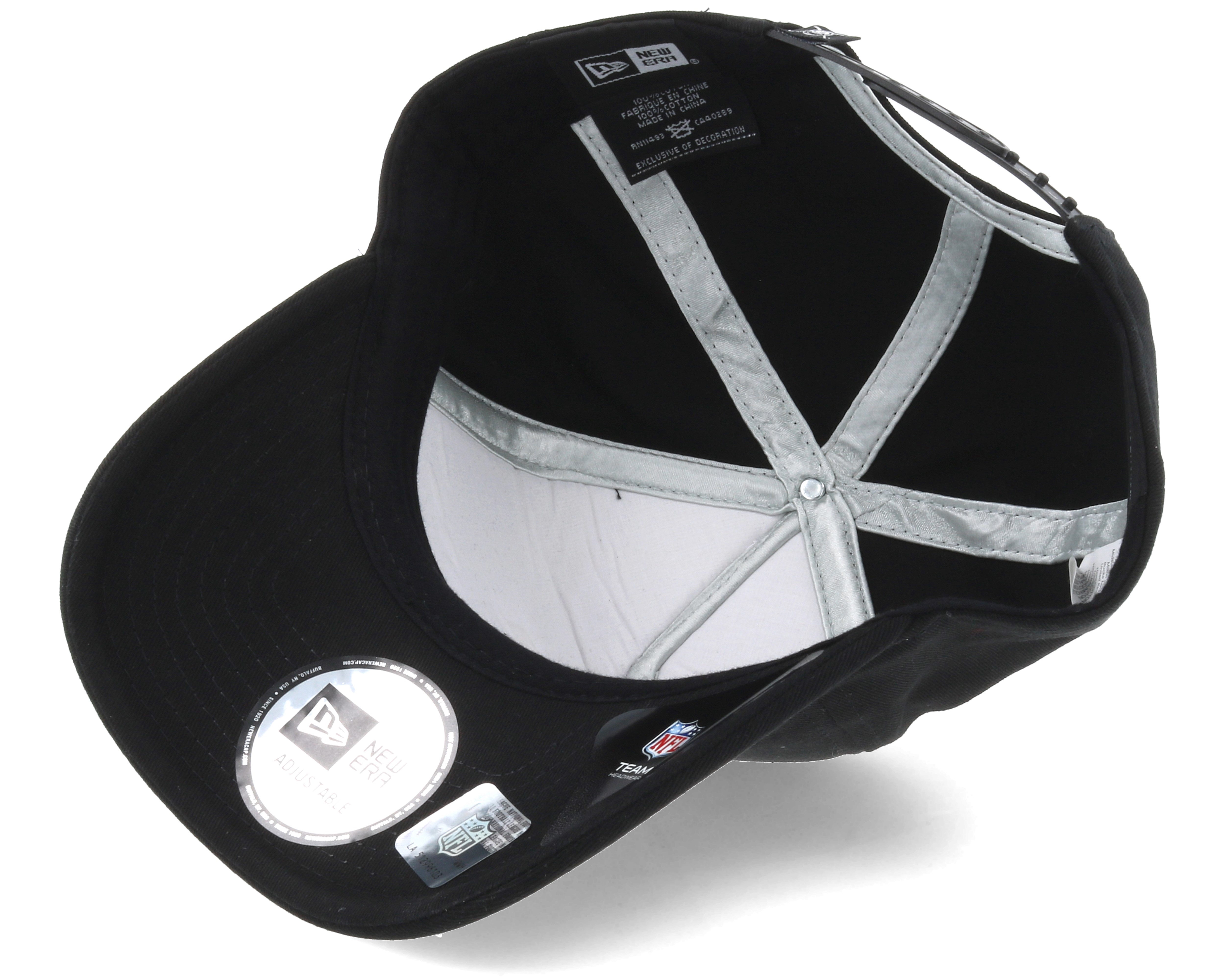 5050d4dea35 ... coupon code for oakland raiders silver and black attack 9fifty black  adjustable 5bd7a f3d22