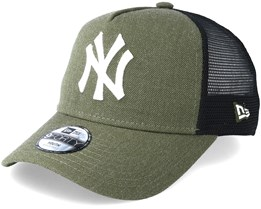 Kids New York Yankees Trucker 9Forty Heather Green Adjustable - New Era