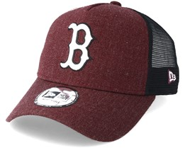 Boston Red Sox Trucker Heather Red Adjustable - New Era