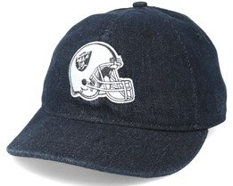 Oakland Raiders Helmet Low Profile 9Fifty Black Strapback - New Era