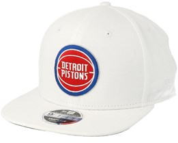Detroit Pistons Classic 9Fifty White Snapback - New Era